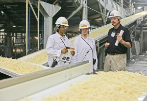 Mcdonald S Shows Moms The Production Of Its World Famous