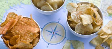 Potato Chips on map
