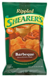 New Shearer's potato chips: rippled