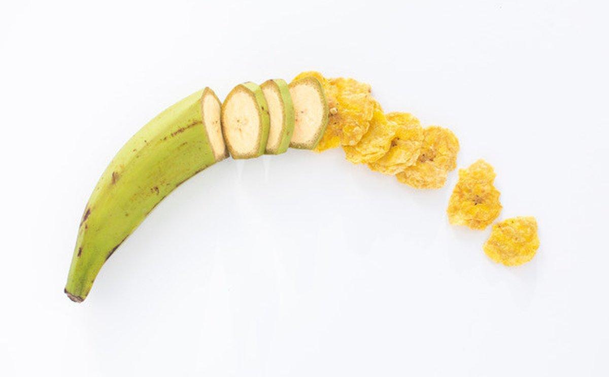 plátano barnana plaintain crips