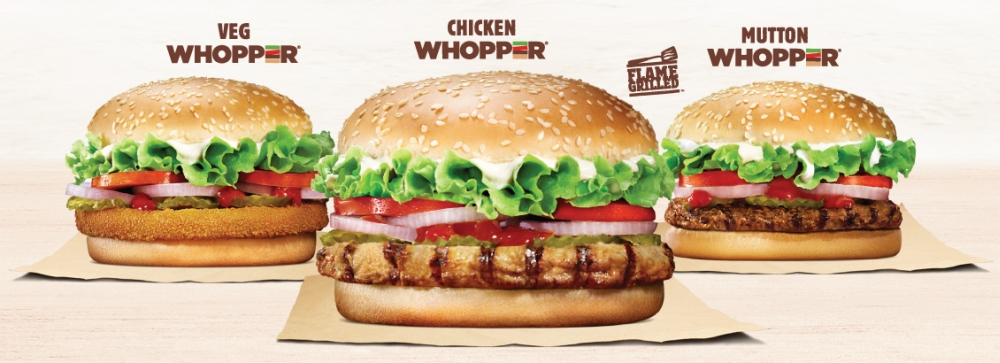 Burger King India Created Six Varieties Of Vegetarian Sandwiches