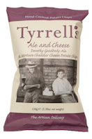 Tyrrells Ale and Cheese