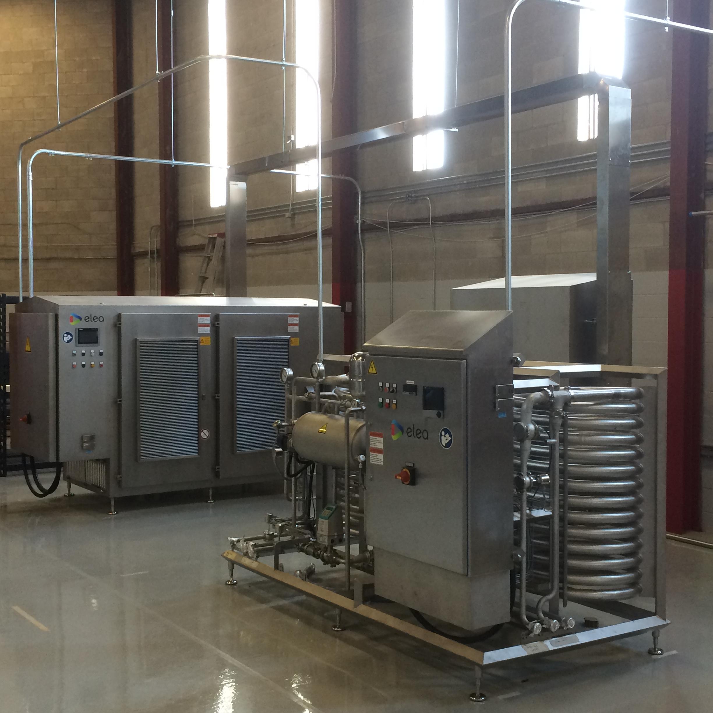 Elea PEF SafeJuice System for innovative processing of liquids