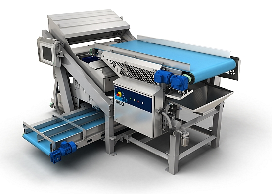 Halo sorting machine