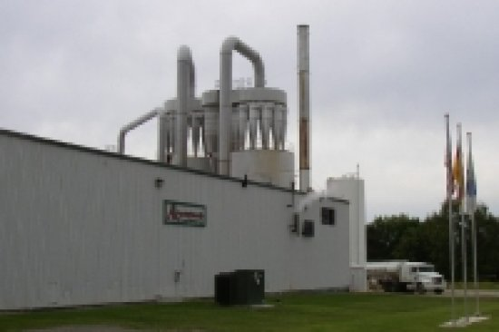 The Aroostook Starch Company in 2003 (Courtesy Maine Encyclopedia)