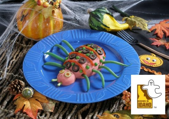 Halloween Potato Recipes from Idaho bring Spooks and Spuds together
