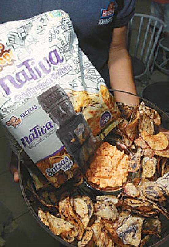 La nueva marca de papas fritas con cáscara Nativa