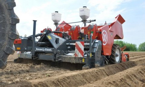 Dewulf-Miedema present full line of potato cultivation machinery at Potato Europe