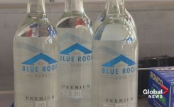 New Brunswick potato farmer produces its first batch of Blue Roof vodka