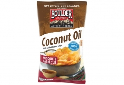 Boulder Canyon® Takes BBQ Potato Chips to the next level: How about Mesquite Barbeque fried in Coconut Oil?