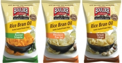 Boulder Canyon introduces Kettle Chips fried in heart-friendly Rice Bran Oil