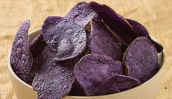 DK Potatoes Purple Potato Chips get rave reviews