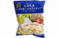 Japanese convenience store offers Hokkaido Blue Cheese flavored potato chips