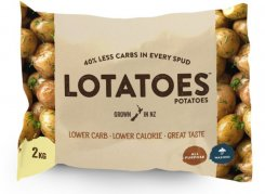 New Zealand get's its own brand of low carb potatoes: 'Lotatoes™'