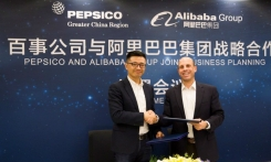 PepsiCo Greater China Region (GCR) signed a strategic agreement with Alibaba Group, the world's largest online and mobile commerce company