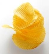 ridged potato chips