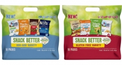 Snyder's-Lance launches four `snack better` multi-brand variety packs around special consumer demands