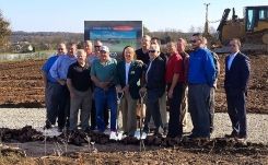 Heat and Control breaks ground on new Spray Dynamics manufacturing facility
