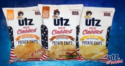 Utz Quality Foods goes patriotic with All-American Utz Grillin' Classic Potato Chips