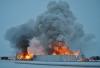 R.D. Offutt warehouse in Minnesota burns down (Elizabeth Huwe, Perham Focus)