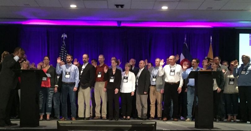 Potatoes USA Board Members for 2017 Sworn in during Annual Meeting
